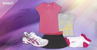 Nieuwe kledinglijn voor vrouwen van Asics