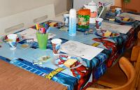 Verjaardagsfeestje voor zevenjarige voor zeven personen
