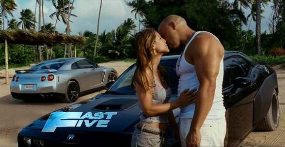 fast five trailer fast and furious 5 movie - 1966 Ford Gt40 Fast Five