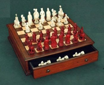 Goddesschess A Napoleon Chess Table and Set
