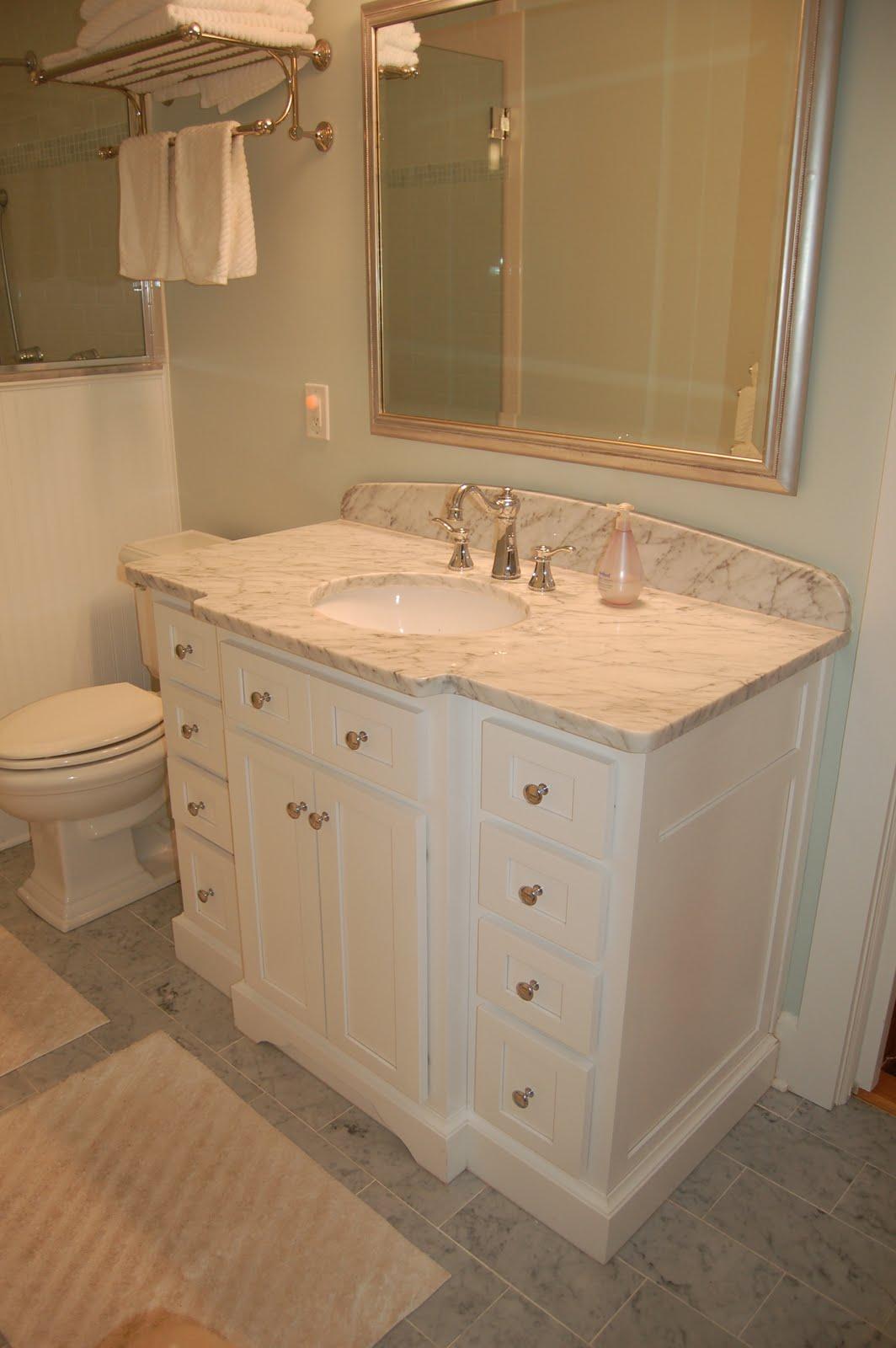 Realestatestyle Our Cottage Master Bath Amp Bedroom