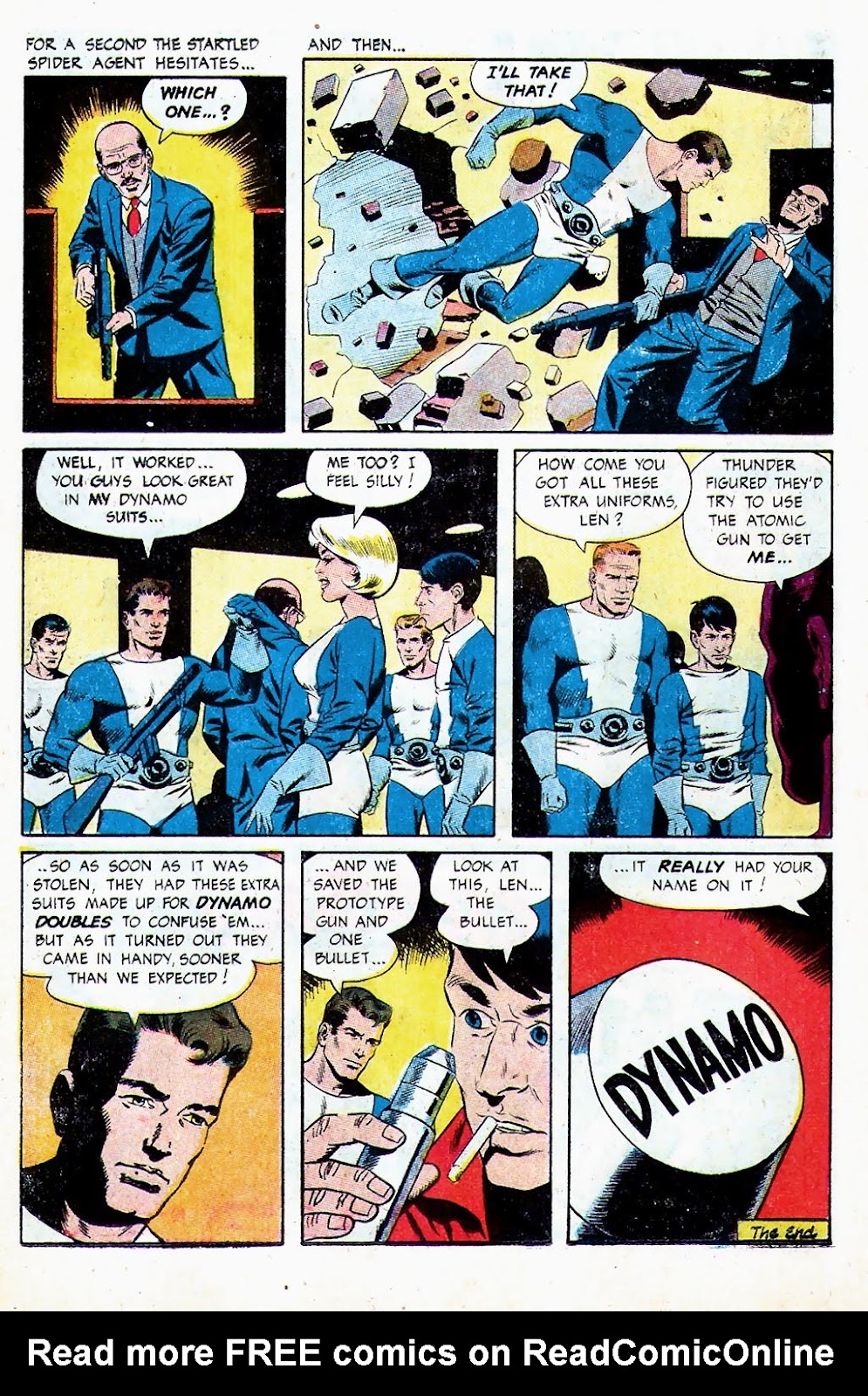 T.H.U.N.D.E.R. Agents (1965) issue 13 - Page 11