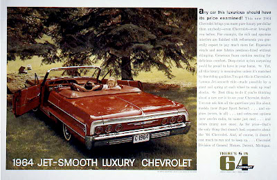 about old chevy ads 64 chevrolet impala magazine ad Eazy-E 1964 Impala 64 chevrolet impala magazine ad