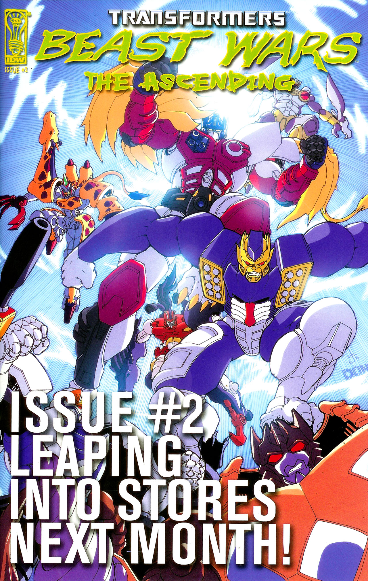 Read online Transformers: Beast Wars: The Ascending comic -  Issue #1 - 25