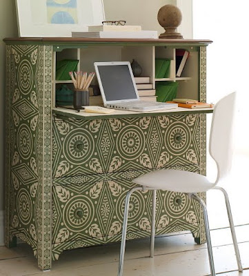 Russian House Modern Small Secretary Desk Designs