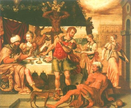 Lazarus Und Der Reiche