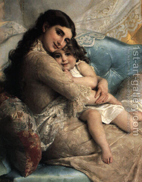 Mom And Daughter Bedroom Ideas: Naari Naari.............: Mother's Love Paintings