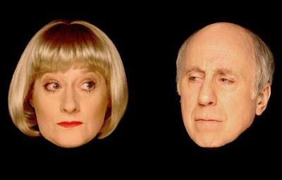 Norman Lovett and Hattie Hayridge