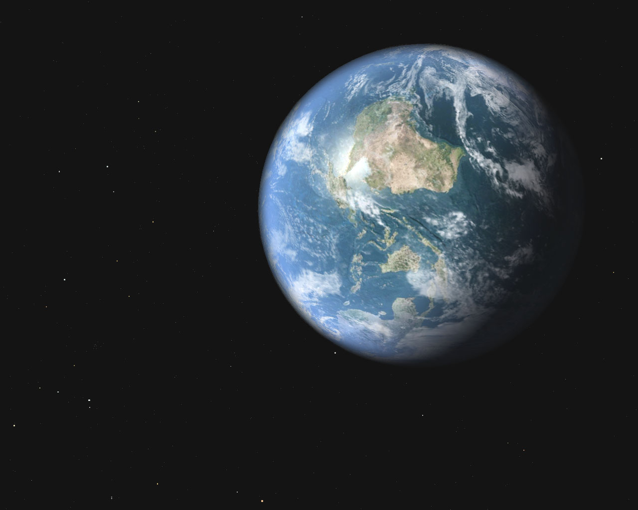 earth from outer space - photo #8