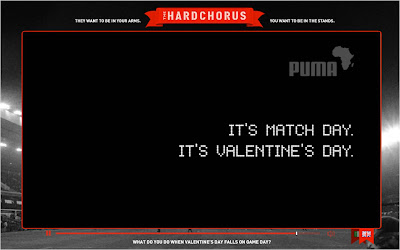 PUMA HardChorus love or football dilemma