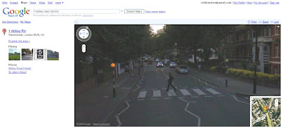Google Streetview Beatles Abbey Road