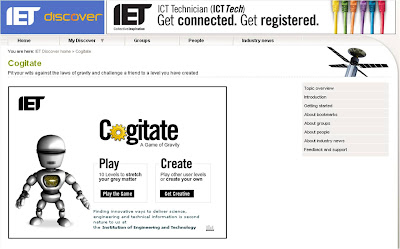 IET Cogitate game