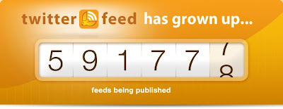 Twitterfeed number of feeds