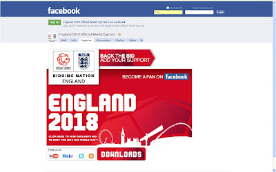 England 2018 Facebook Fan Page World Cup