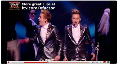 Jedward X Factor Calvin Harris pineapple