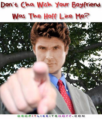 Boyfriend was the Hoff Like Me David Hasselhoff