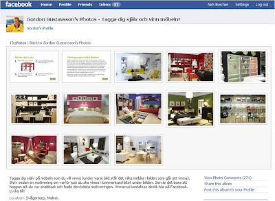Gordon Gustavsson IKEA Malmo Facebook photo albums