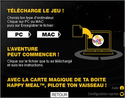 Star Wars Augmented Reality Happy Meal instructions 2