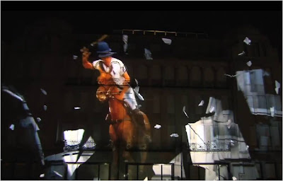 Ralph Lauren 4D projection London New Bond Street