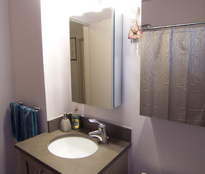 Small Bathroom Medicine Cabinets 2 medicine cabinets streamline a small bathroom: before & after