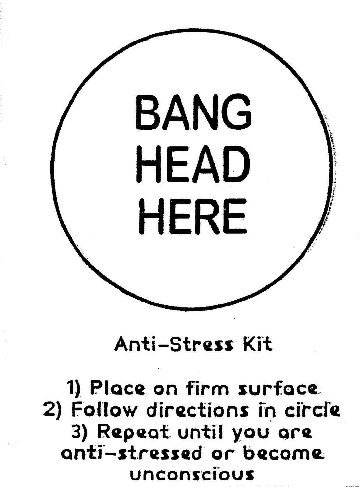 Stress Treatment Kit