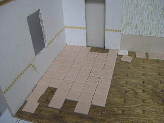 Dollhouse floor