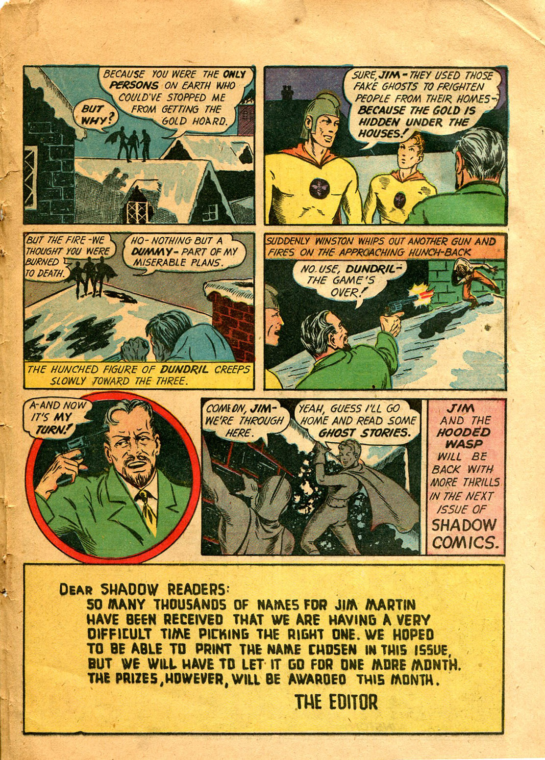 Read online Shadow Comics comic -  Issue #9 - 47