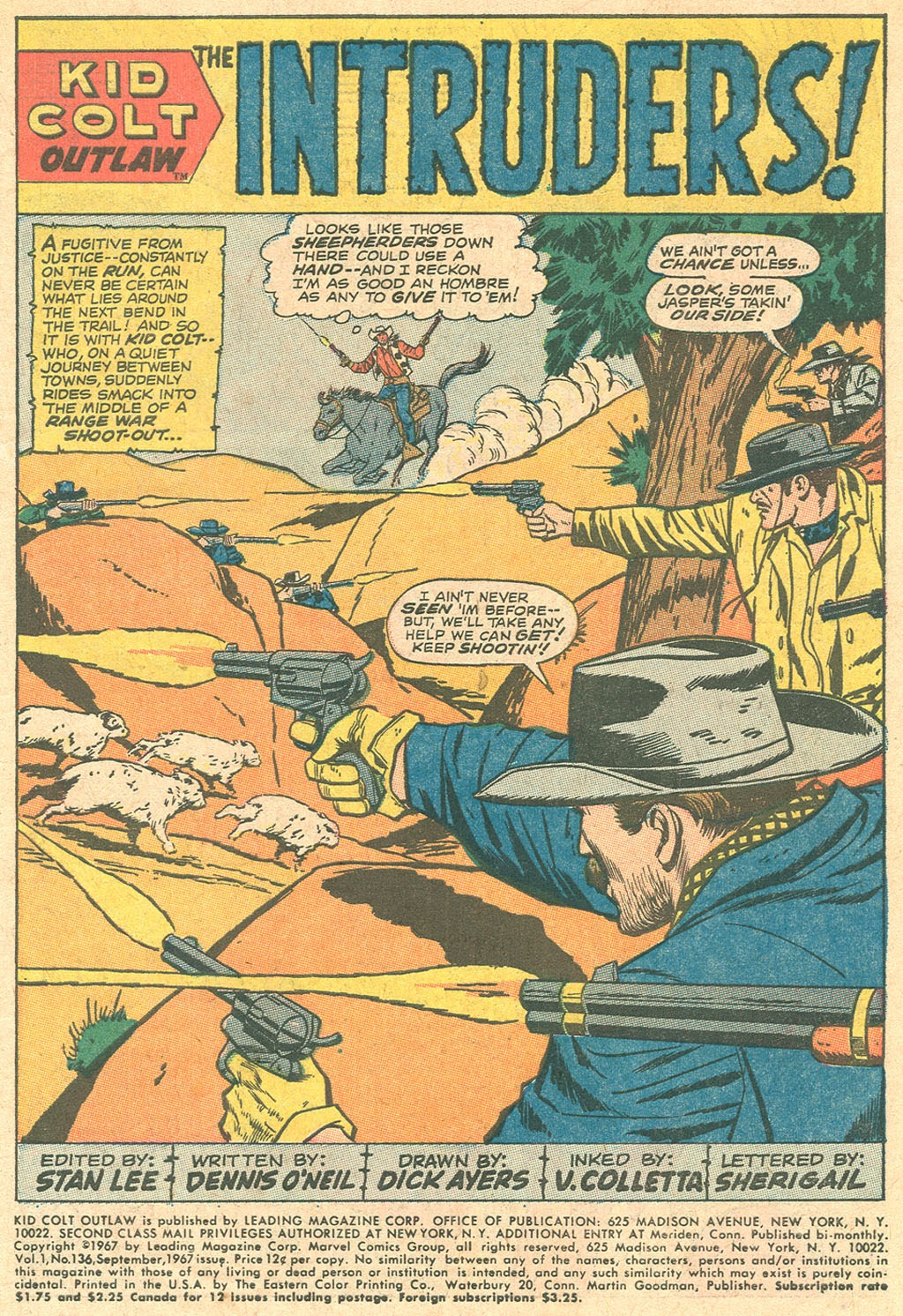 Kid Colt Outlaw issue 136 - Page 3