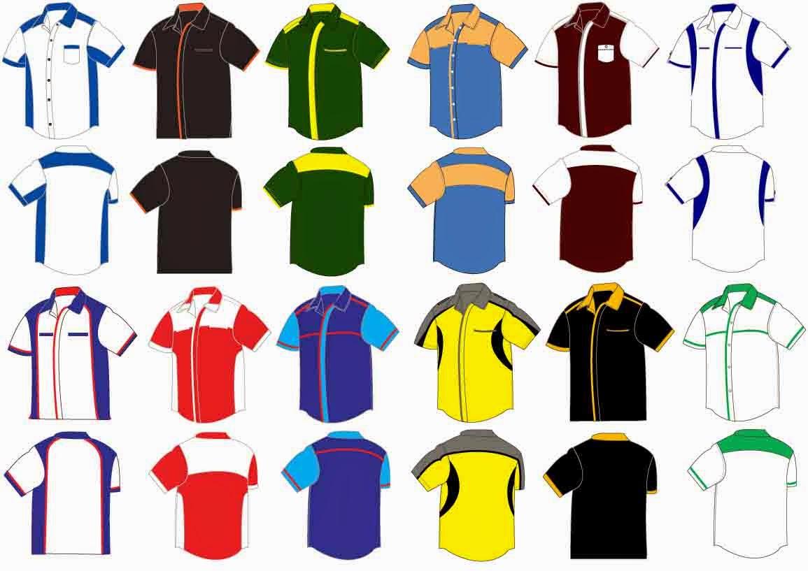 Design t shirt uniform - More Design Click Here Www Kemejakorporat Blogspot Com My