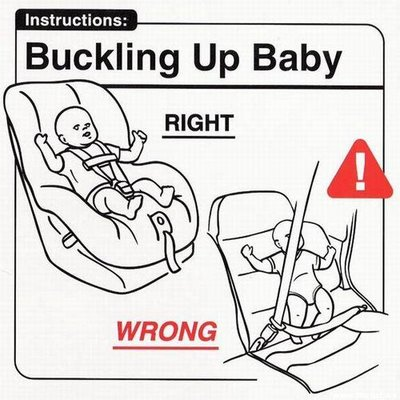 Funny baby instructions for all new and future parents
