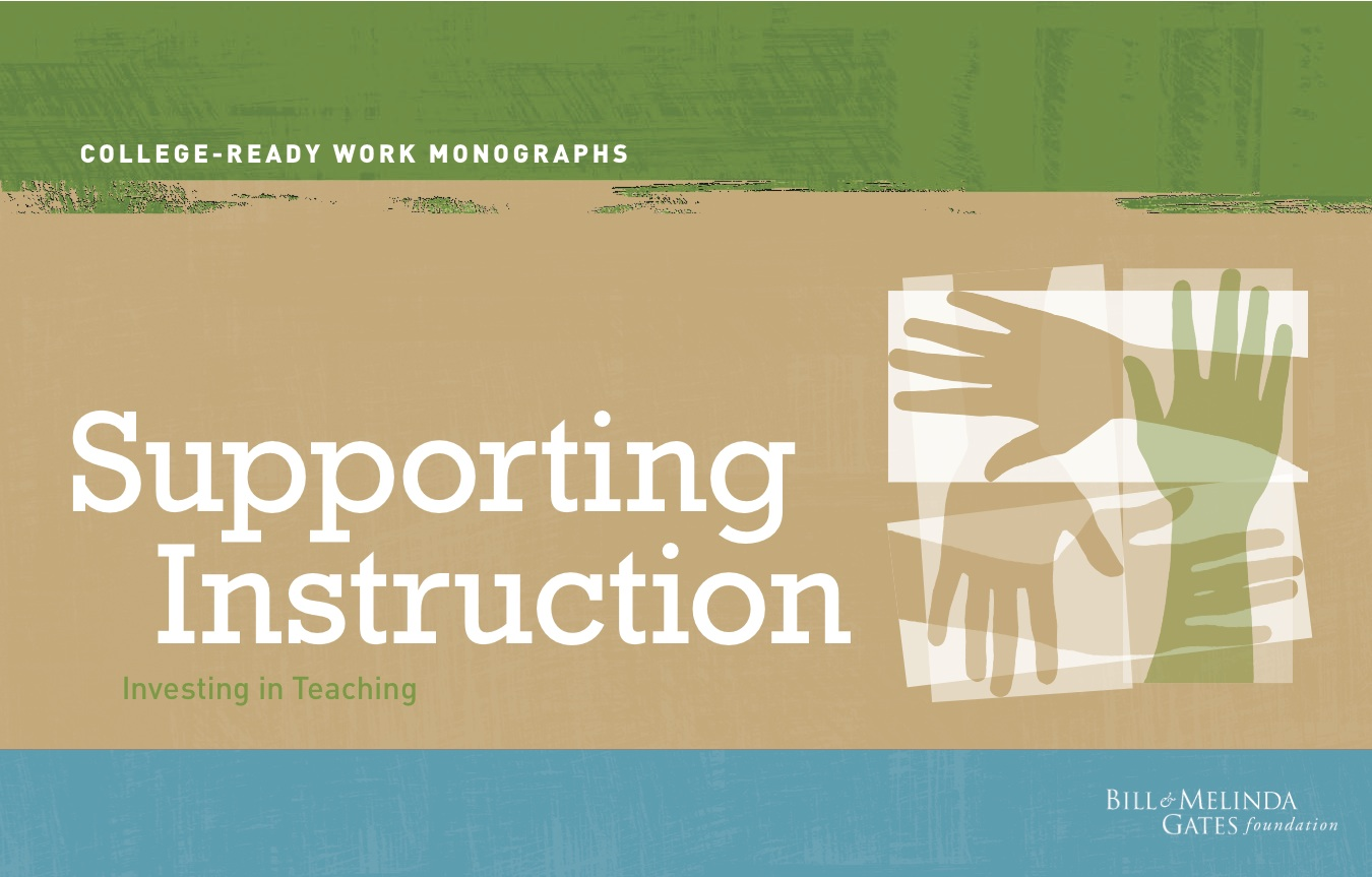 supporting instruction literacy modules courses and construction in
