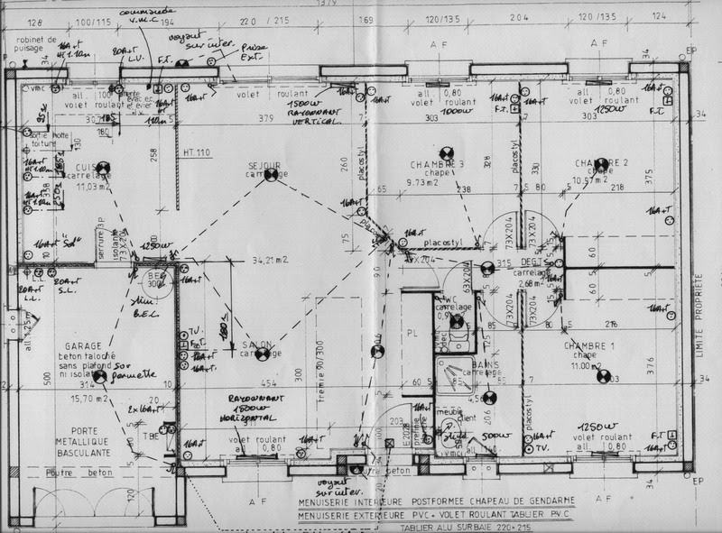 building electric schema cablage