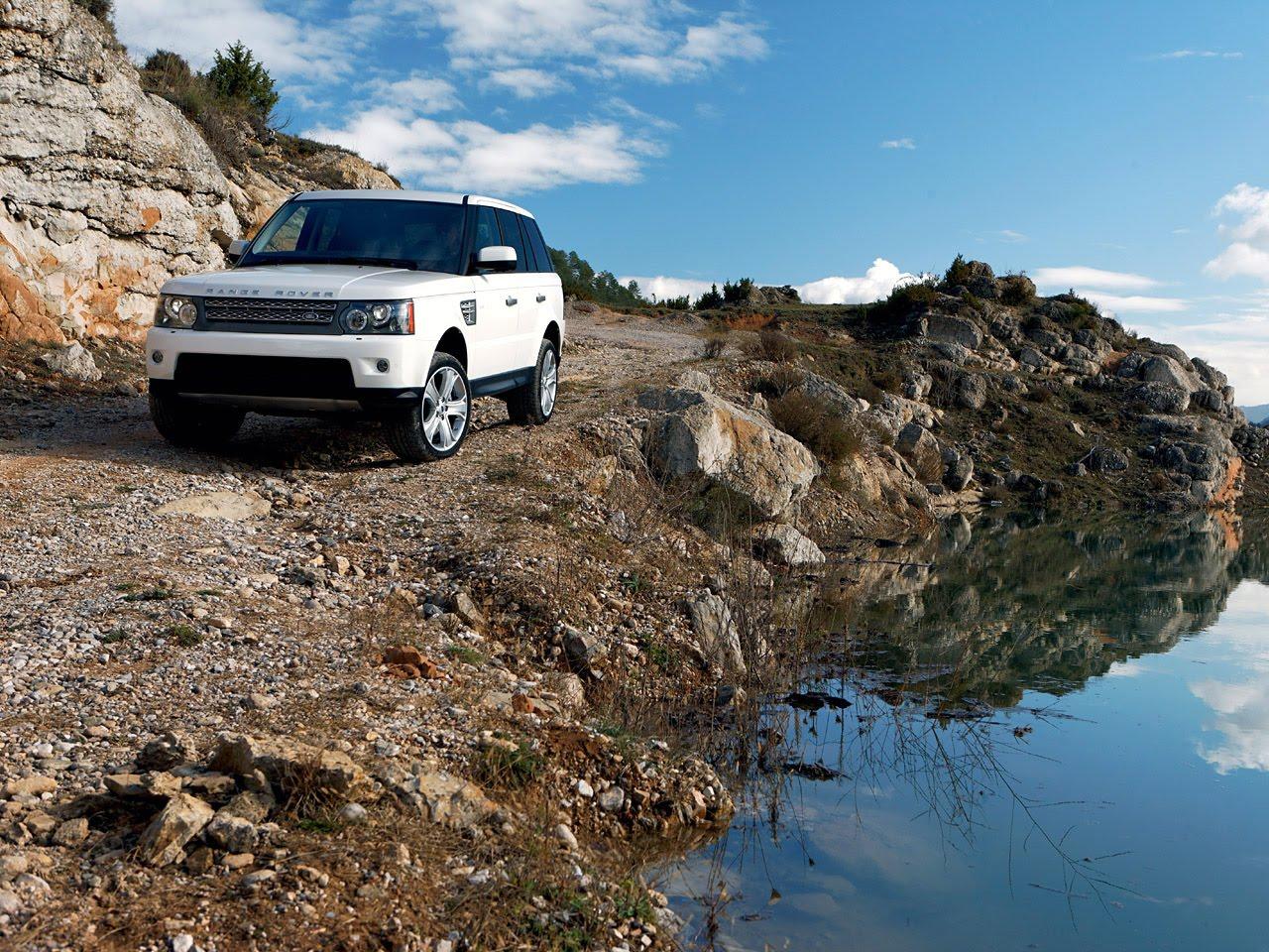 Wallpaper Gambar Mobil Sport: Gambar Land Rover Range Rover Sport Supercharged 2010