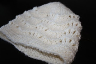 The Createry Shop: Feather and Fan Hat - Free Knitting Pattern