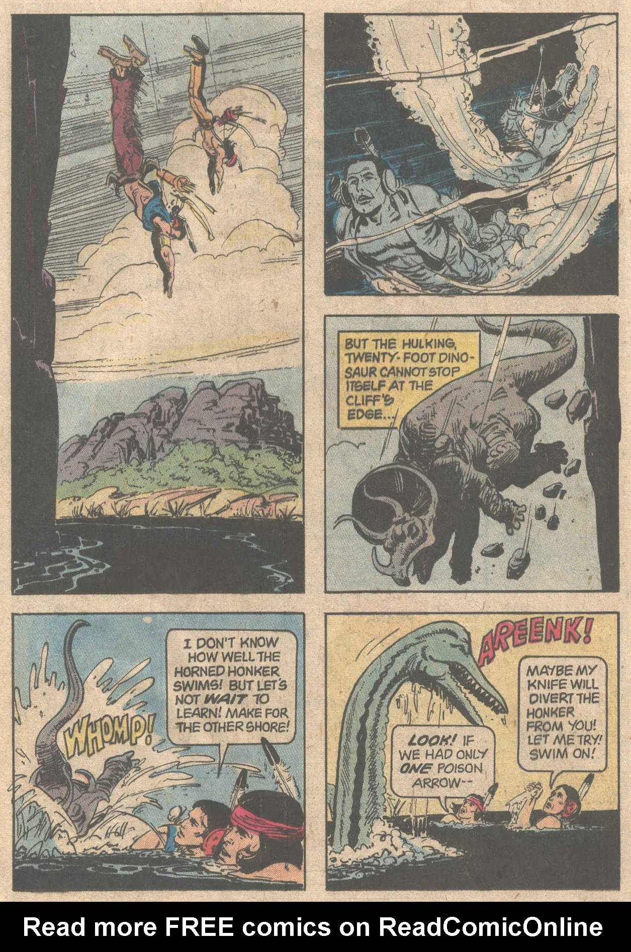 Read online Turok, Son of Stone comic -  Issue #117 - 20
