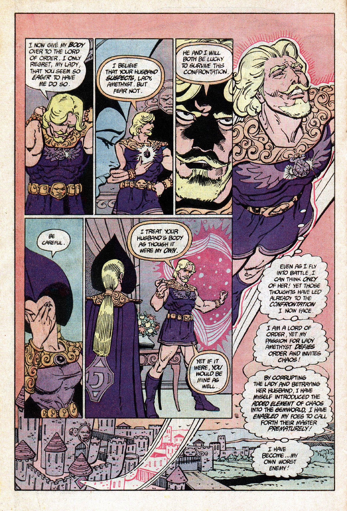 Read online Amethyst (1985) comic -  Issue #13 - 10