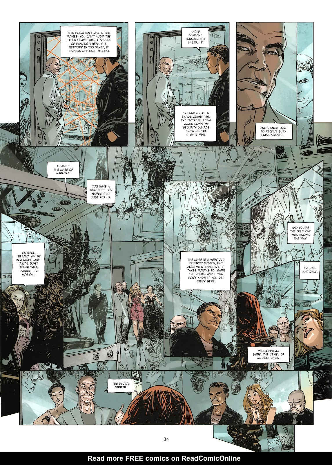 Read online Cutting Edge (2013) comic -  Issue #3 - 31