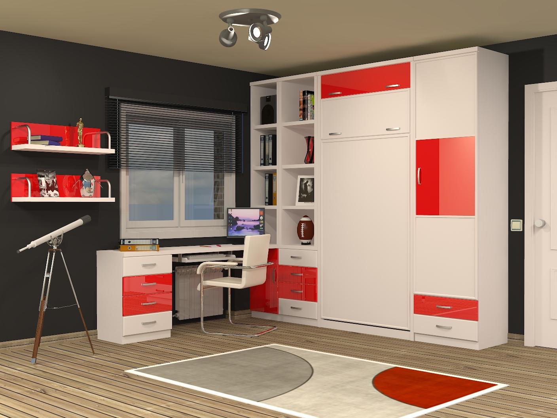 Muebles juveniles dormitorios infantiles y habitaciones for Camas infantiles diseno moderno
