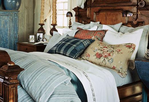 Rustic Maple: Ralph Lauren Inspired Guest Bedroom