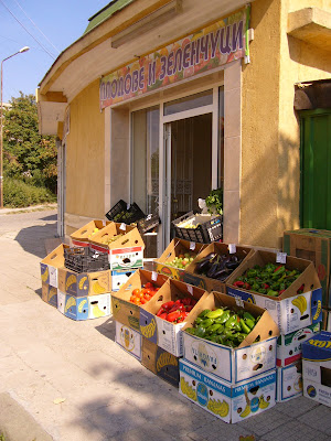 Local Bulgarian Fruit and Vegetables