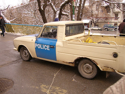 A Lada Police Car - Is it Road Worthy?