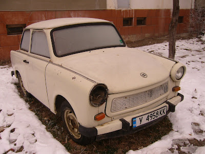 A Road Worthy Trabant in Yambol City