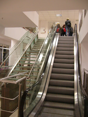The Escalators in Yambol