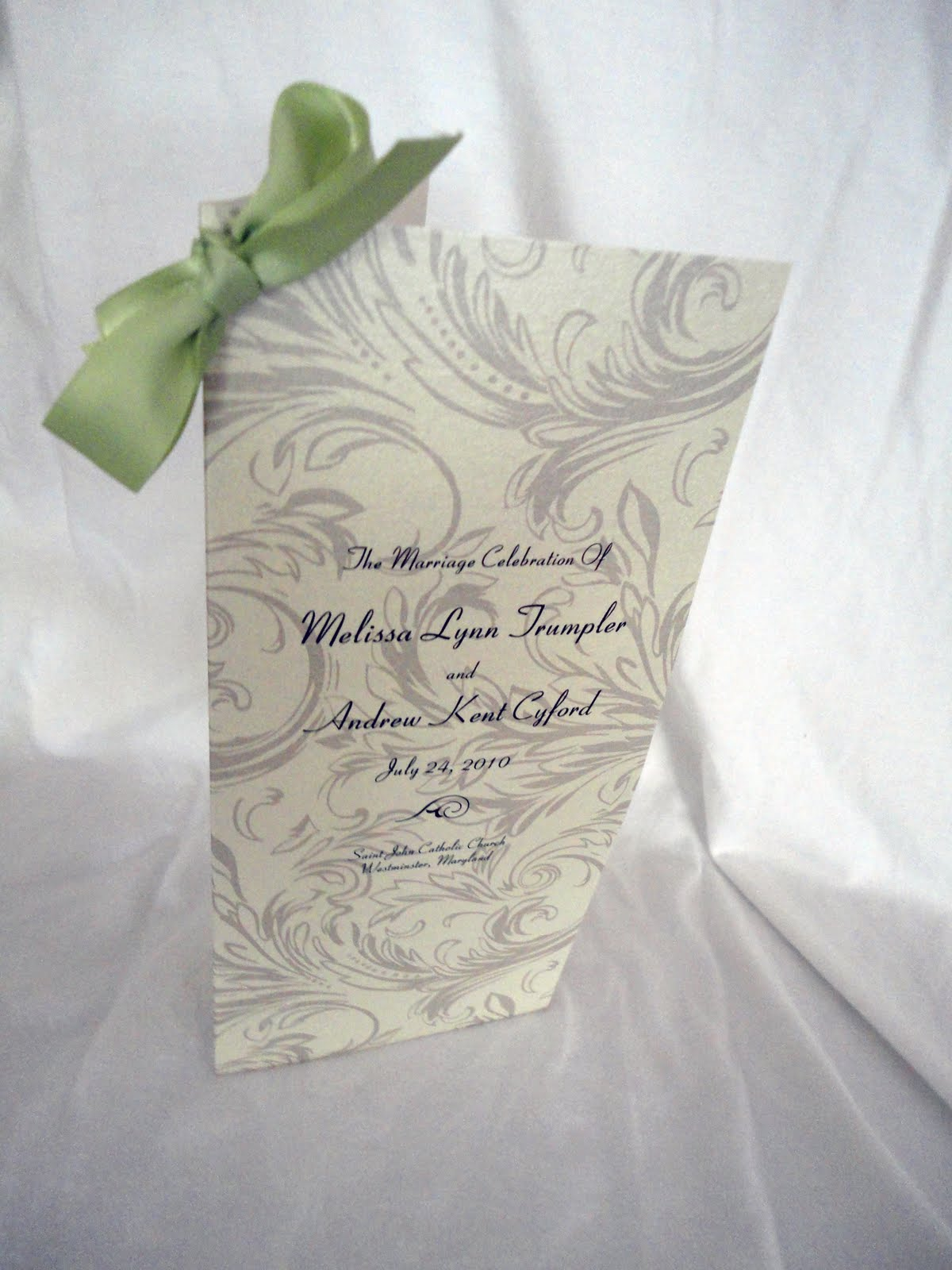 summer wedding programs kindly rsvp designs blog