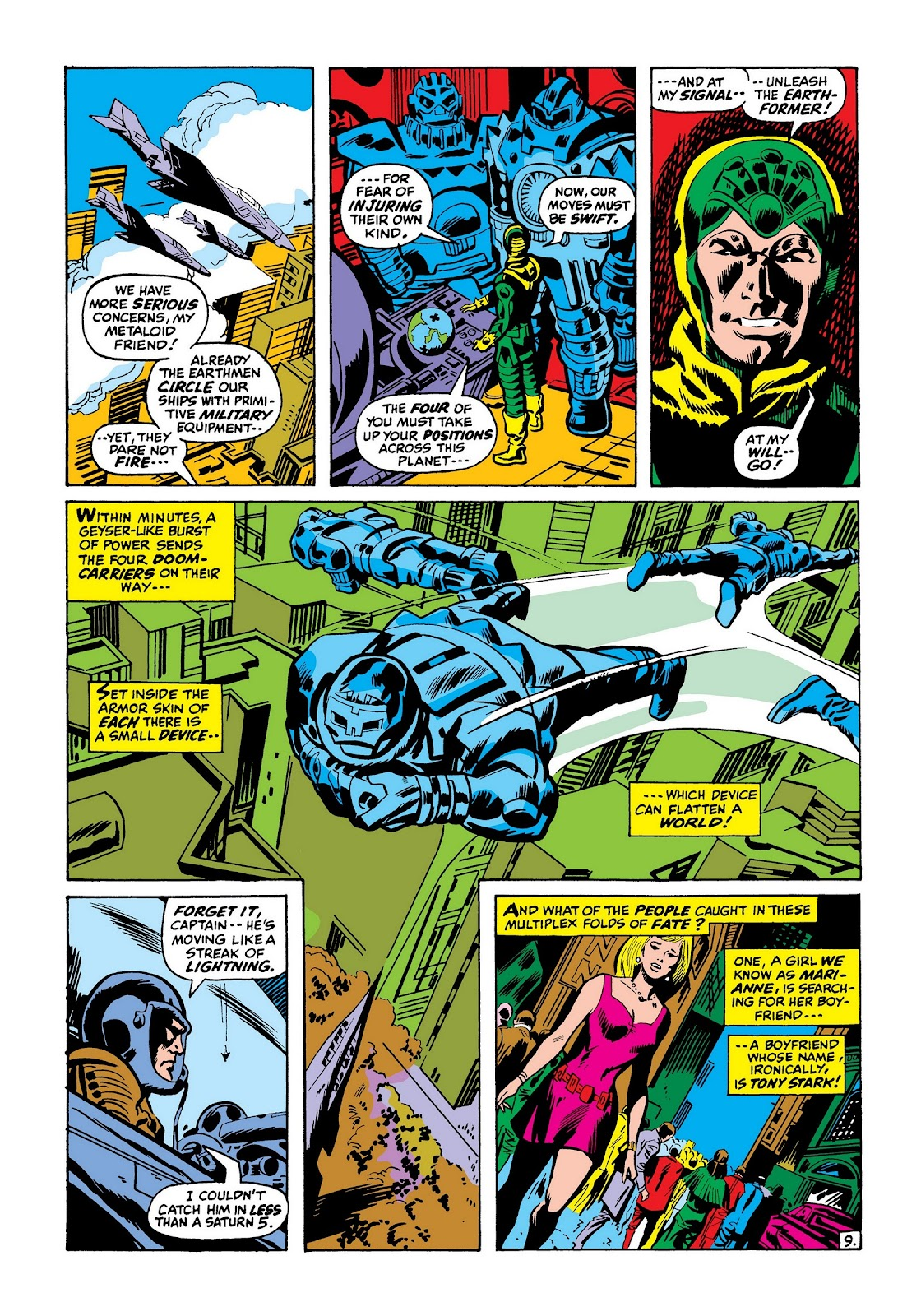 Read online Marvel Masterworks: The Invincible Iron Man comic -  Issue # TPB 7 (Part 3) - 58