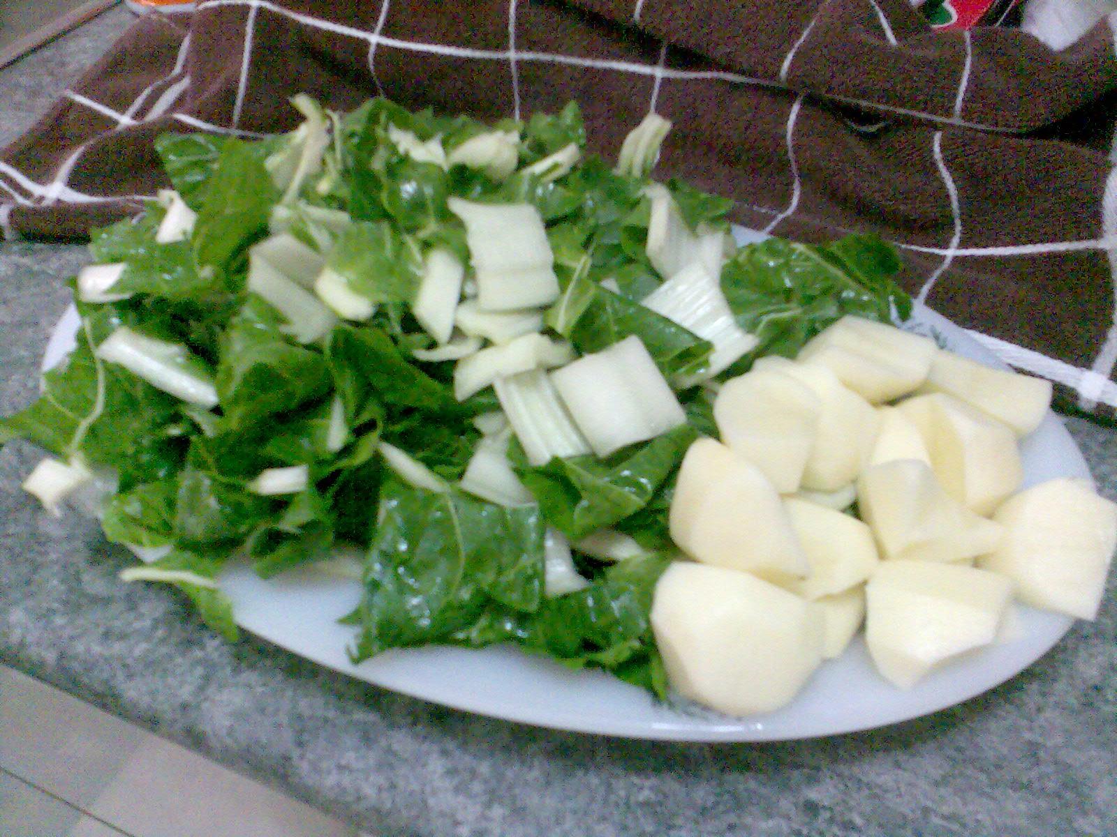 Recetas Para Vegetarianos Acelgas Con Patatas A La Vasca