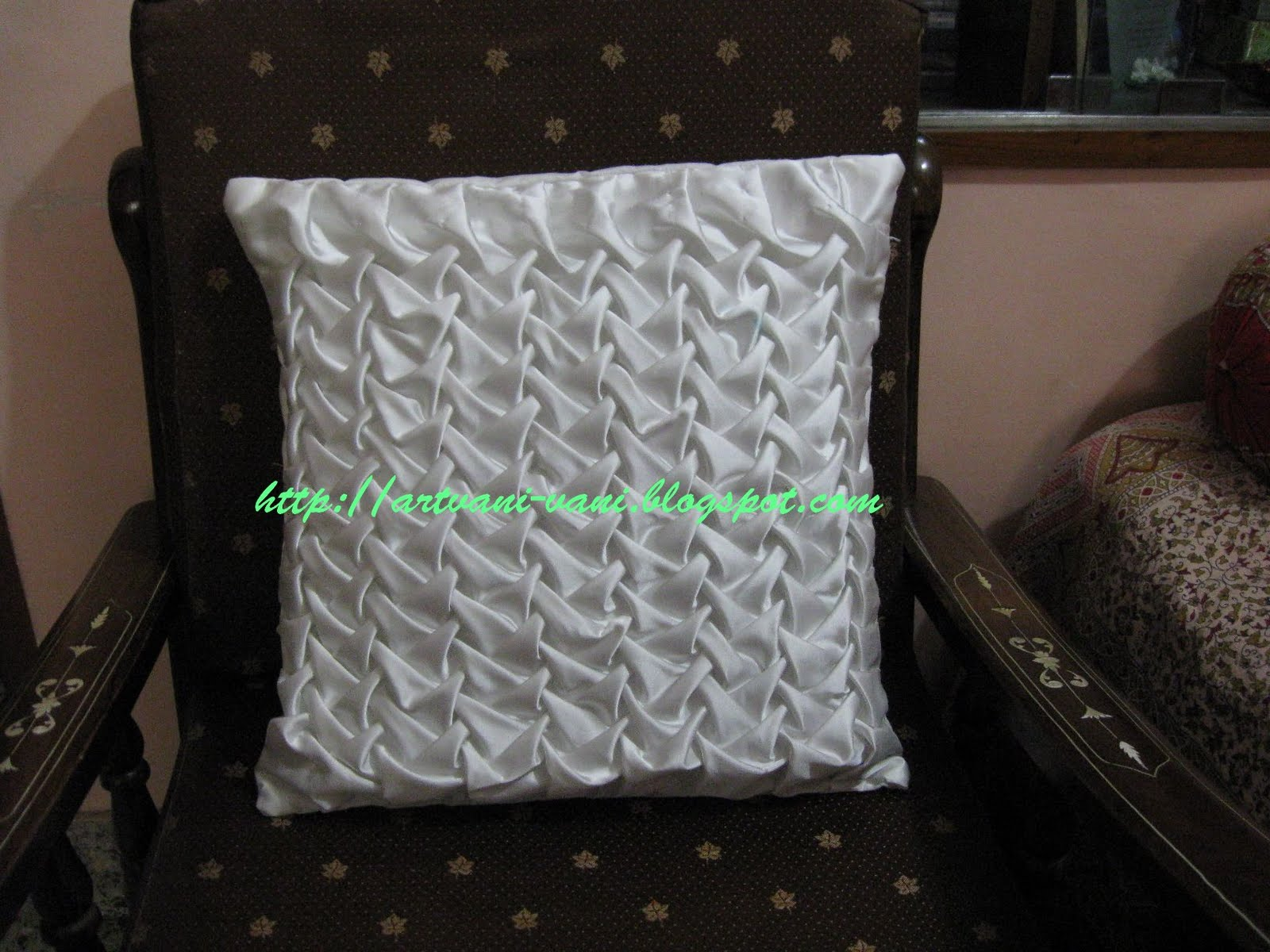 Vani's blog 2 : Canadian smocking by joining two points