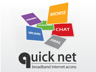 Quicknet Teknologi EV-DO up to 3.1 Mbps