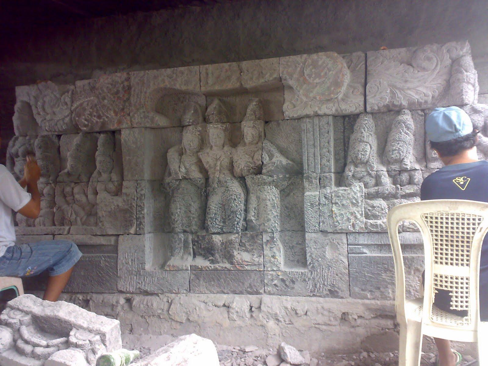 lavastone patung batu prumpung