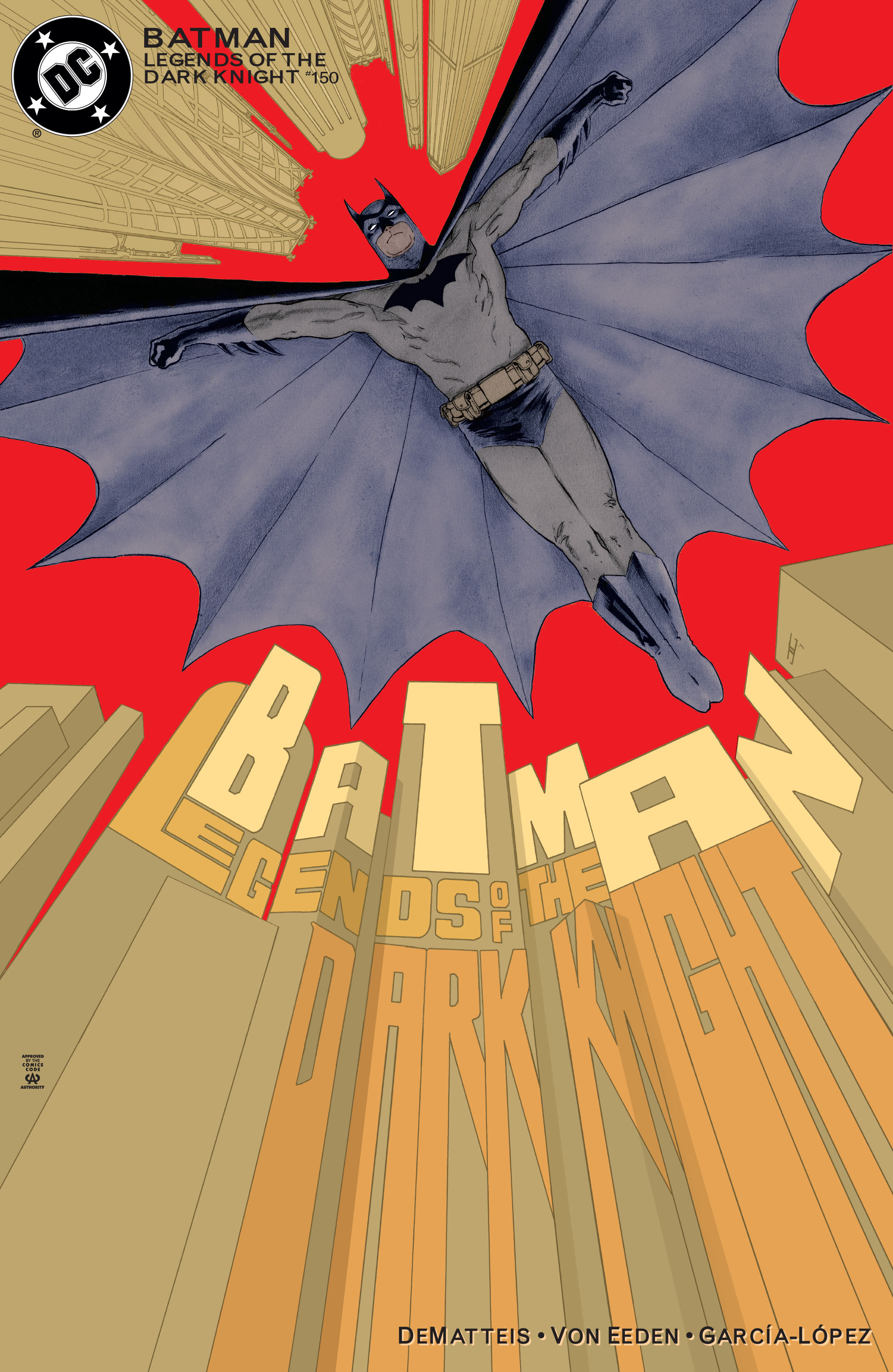 Batman: Legends of the Dark Knight 150 Page 1